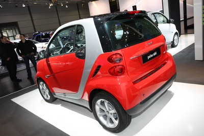 Smart Forwto Coupe Pulse Micro Hybrid Drive.