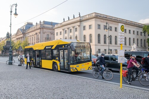 Solaris Urbino 12 Electric in Berlin.