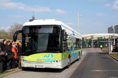 Solaris Urbino 12 Electric in Braunschweig.