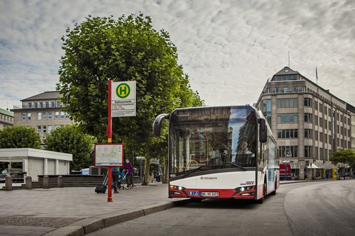 Solaris Urbino 12 Electric in Hamburg.