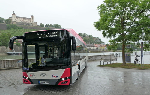 Solaris Urbino 12 electric in Würzburg.