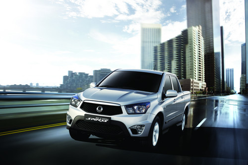 Ssangyong Actyon Sports.