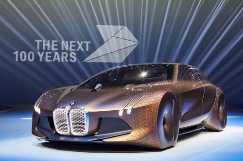 Studie BMW Next 100.