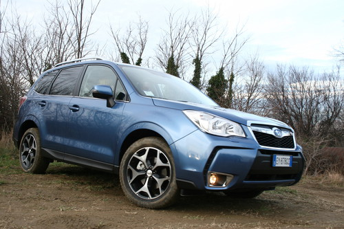 Subaru Forester 2.0 D Lineartronic.