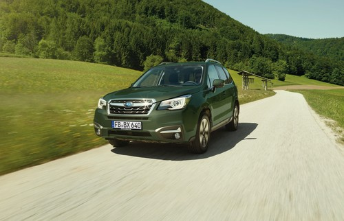 "Subaru Forester Forester 2.0D Edition ""Huntergreen""."