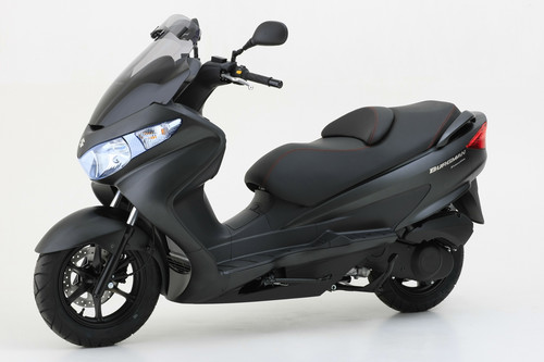 Suzuki Burgman 125 Executive.