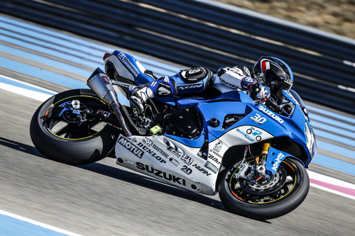 Suzuki Endurance Racing Team (SERT) beim Bol d'Or 2015.