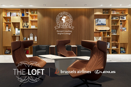 The Loft by Brussels Airlines & Lexus.