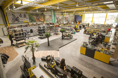 Touratech-Shop am Firmensitz in Niedereschach.