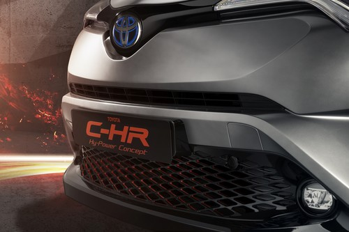 Toyota C-HR Hy-Power.