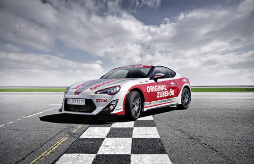 Toyota GT86 TRD Pace Car.
