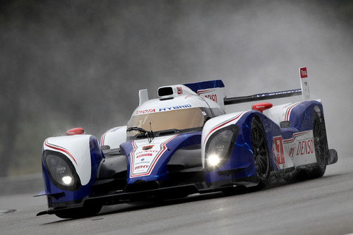 Toyota TS 030 Hybrid in Le Mans 2012.