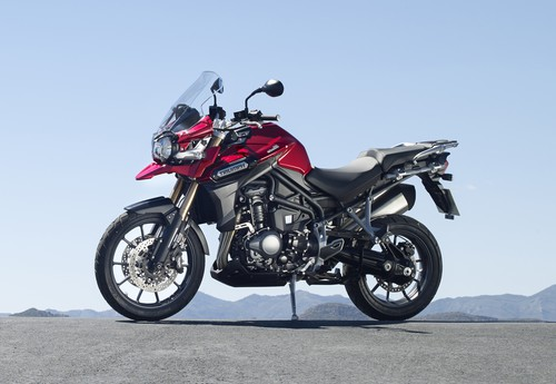 Triumph Tiger Explorer.