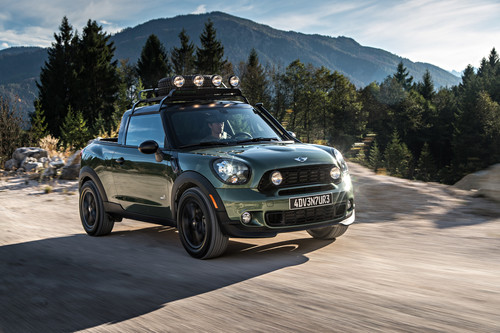 Unikat: Mini Paceman Adventure.