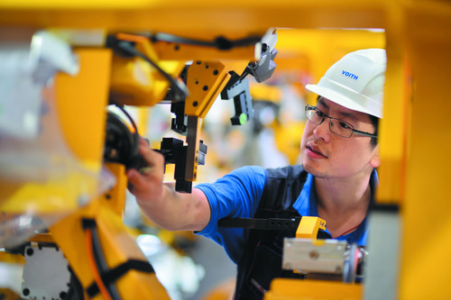 Voith Industrial Services in China.