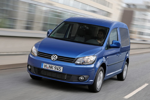 Volkswagen Caddy Blue Motion.