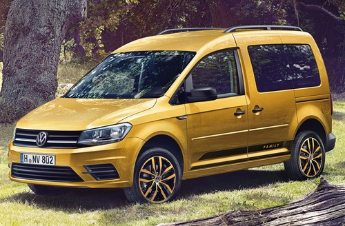 Volkswagen Caddy Family.