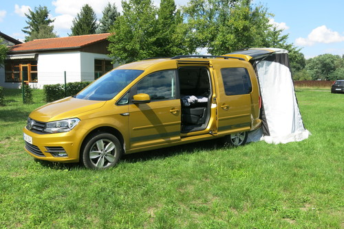 Volkswagen Caddy Maxi Beach.