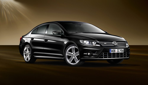 Volkswagen CC Dynamic Black.