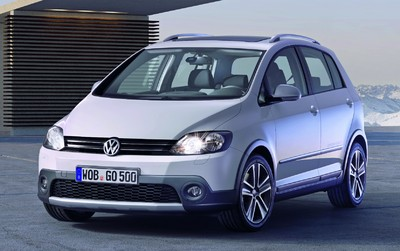 Volkswagen Cross Golf.