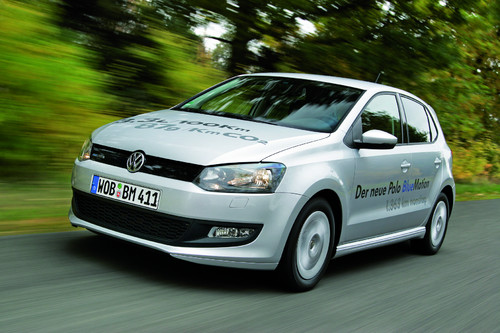 Volkswagen Polo Blue Motion.