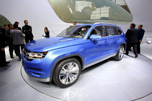Volkswagen SUV-Studie Cross Blue.