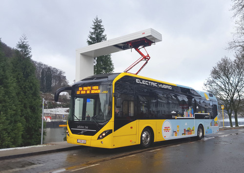 Volvo 7900 Electric Hybrid.