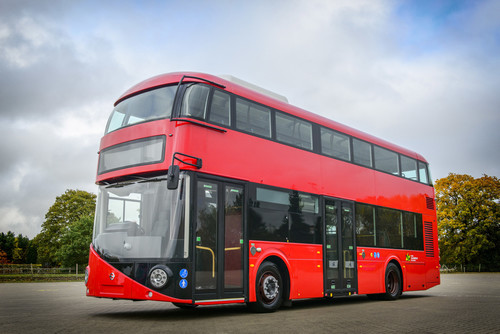 Volvo B5LHC Double Deck Electric Hybrid.