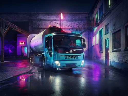 Volvo FE Electric.