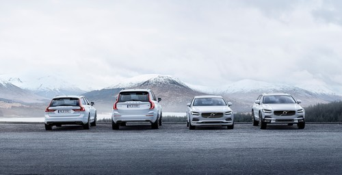 Volvo V90, XC90, S90 und V90 Cross Country