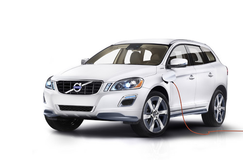 Volvo XC60 Plug-in-Hybrid Concept.