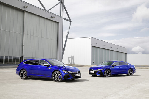 VW Arteon R Shooting Brake und Arteon R.