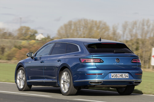 VW Arteon Shooting Brake e-Hybrid.