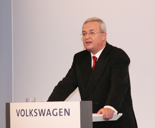 VW-Chef Martin Winterkorn.