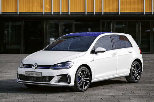 VW Golf GTE Edition.