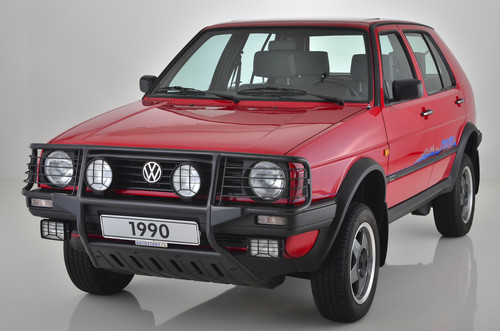 VW Golf II Country (1990).