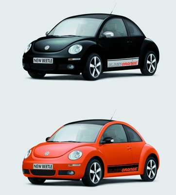 "VW New Beetle ""Black-Orange""."