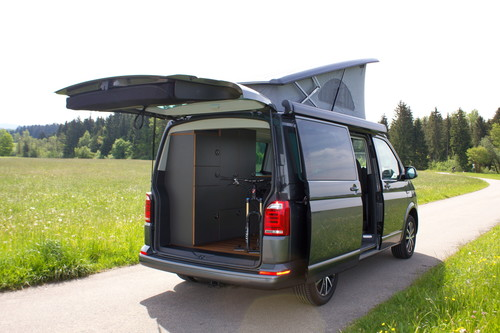 VW T6 Exploryx Bike & Sleep.
