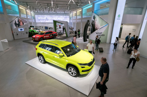 What drives You? - Skoda Unter den Linden.