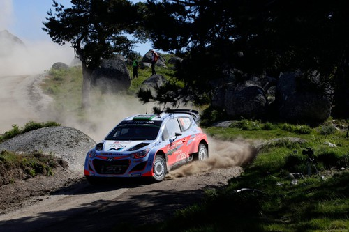 WRC-Lauf in Portugal: Hyundai.