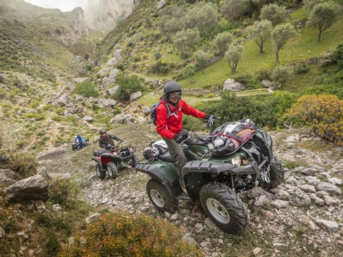 Yamaha Grizzly 700 EPS WTHC.