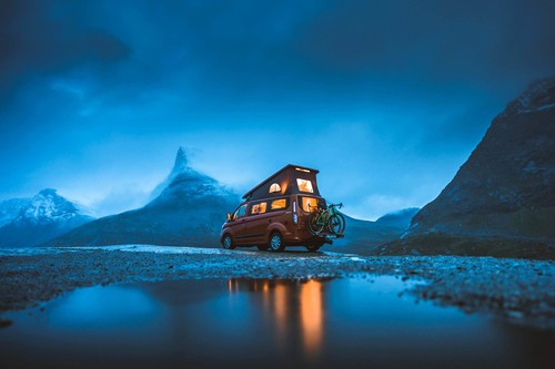 "Youtube-Video ""Great Escapes"": Ford Nugget in Norwegen."