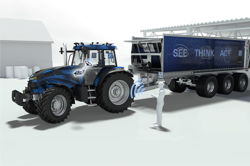 ZF Innovation Tractor.