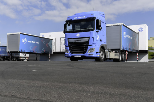 ZF Innovation Truck.