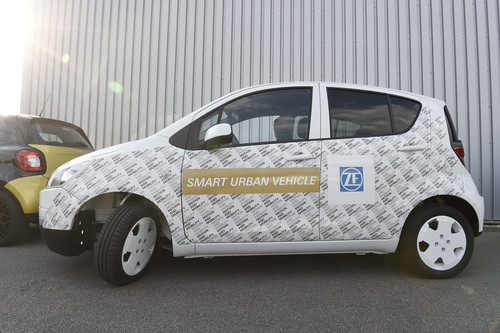 ZF Smart Urban Vehicle.