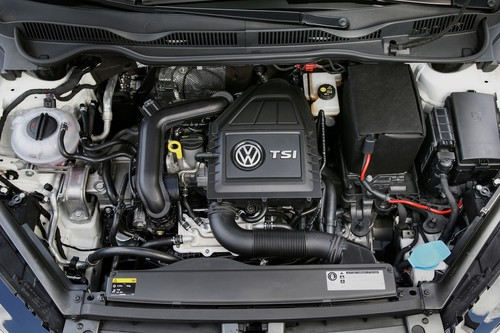 Volkswagen Golf TSI Blue Motion.