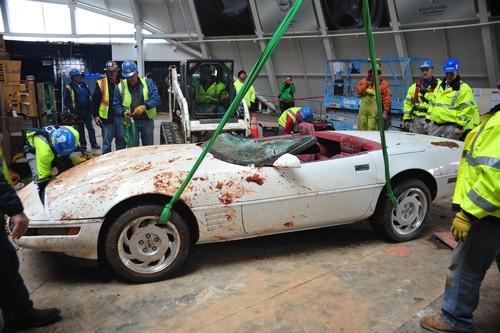 Einmillionste Chevrolet Corvette: Fast ein hoffungsloser Fall.
