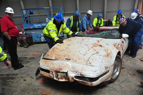 Einmillionste Chevrolet Corvette: War einst ein schönes Auto und wird es wieder werden.