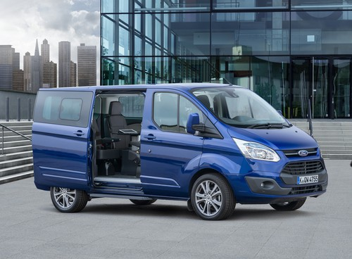 Ford Tourneo Custom Business Edition.
