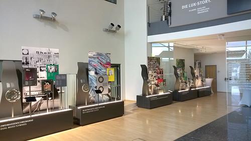 """Ausstellung """"Die LuK Story. 50 Jahre. Qualität. Technologie. Innovation."""""""